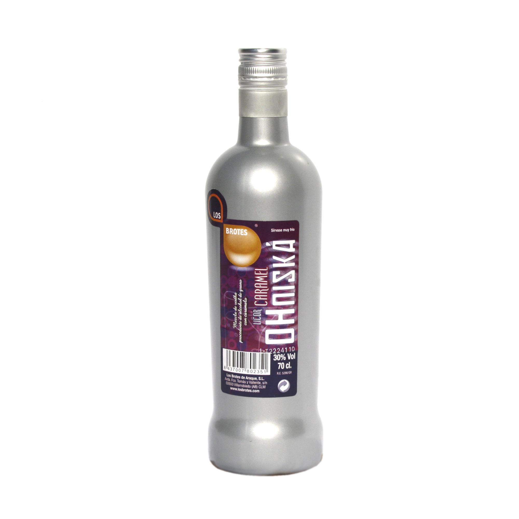 Vodka Ohniská Caramelo