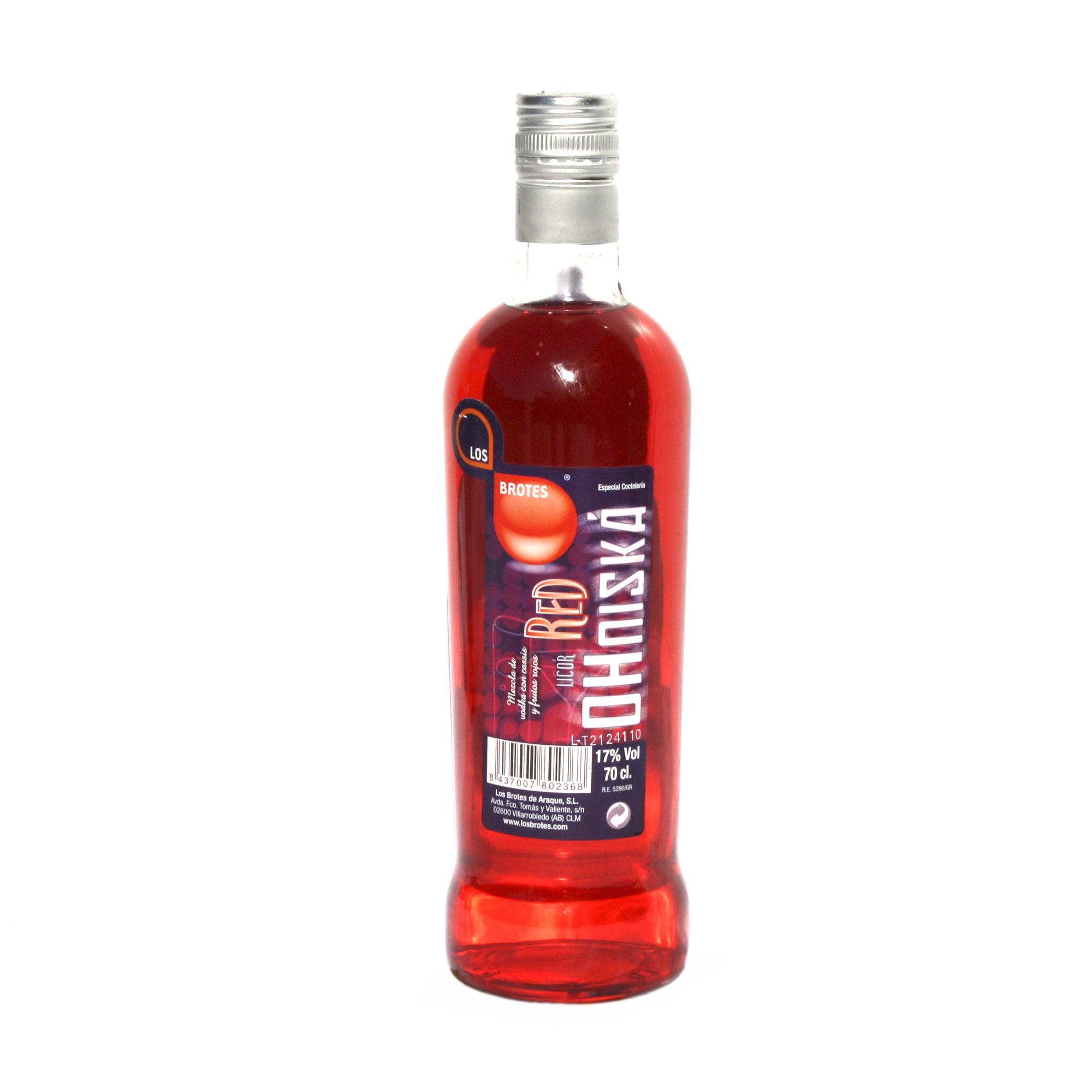 Vodka Ohniská Red