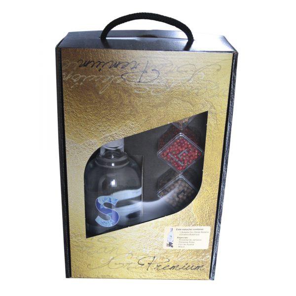 Estuche especial Gin Stride Premium Botanic