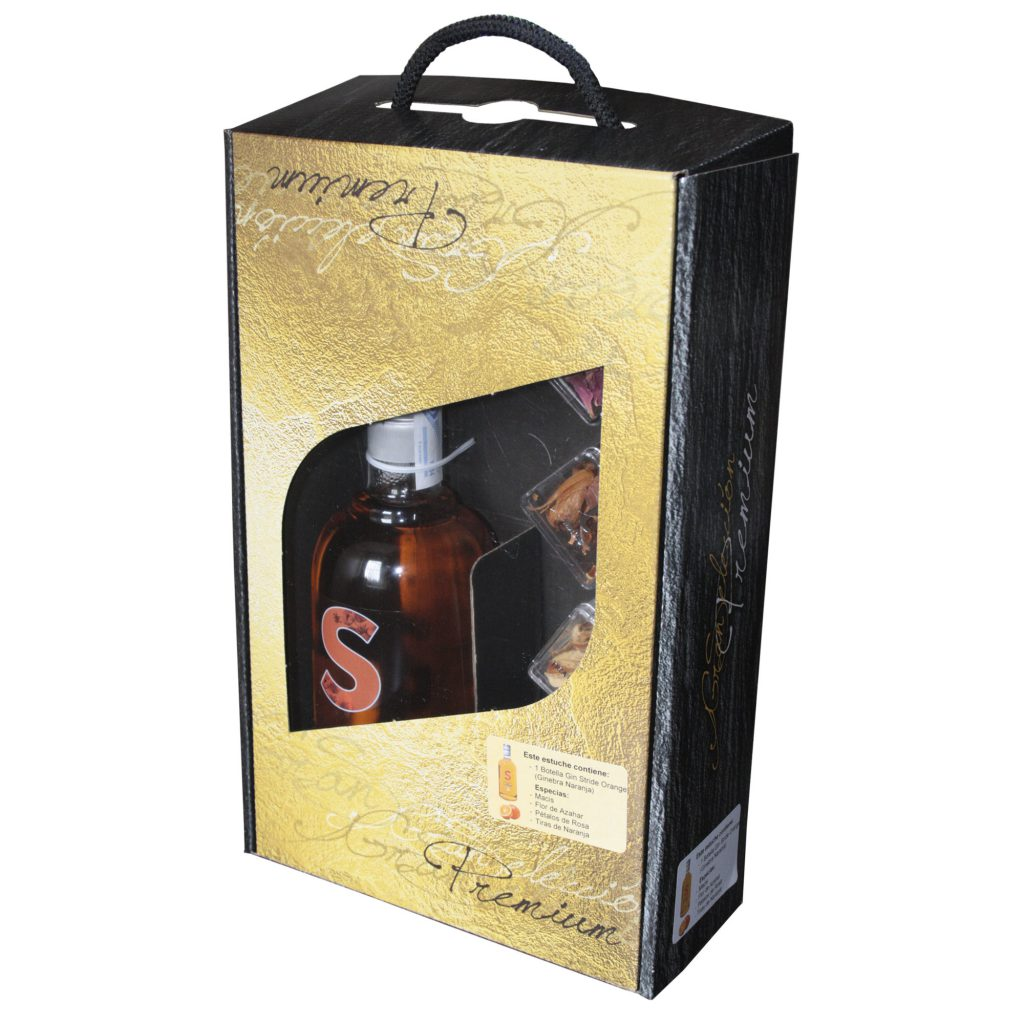 Estuche especial Gin Stride Premium Orange