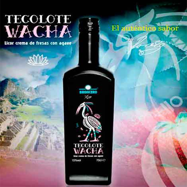 """Crema de fresas """"TECOLOTE WACHA"""" con AGAVE"""